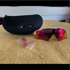 Athletic fitting sunglasses- Oakley